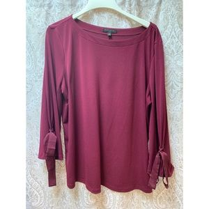 Banana Republic Tie-Sleeve Blouse